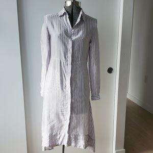 Maje Striped Midi Dress in Size 2